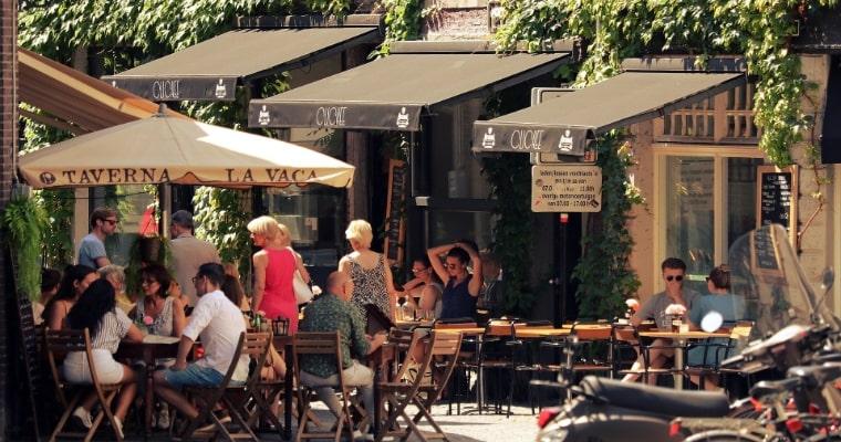 レストランの写真